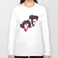 lovers Long Sleeve T-shirts featuring Lovers by Ralph Moreau