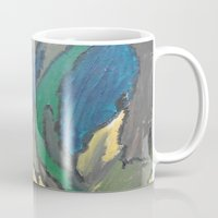 camo Mugs featuring Camo by Kristin Rodgers