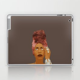 Erykah Badu, Brown Laptop & iPad Skin