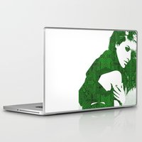henna Laptop & iPad Skins featuring Aztec Henna by fashionistheonlycure