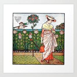How does your garden grow? Art Print