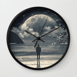Meeting with her Wall Clock