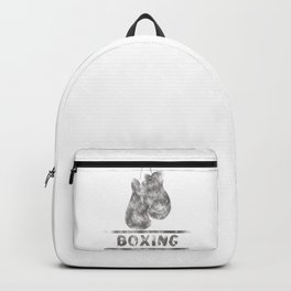 Boxing Backpack