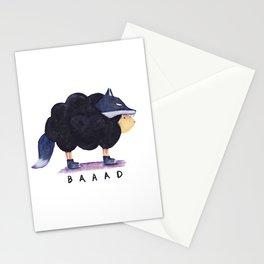 Baaad Baaad Black Sheep Stationery Cards