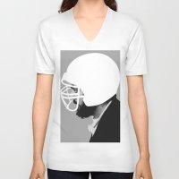 kubrick V-neck T-shirts featuring Stanley Kubrick by MORPHEUS