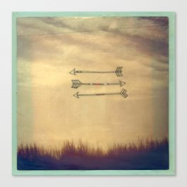 Wispy Way Canvas Print