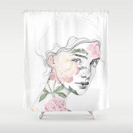 Botanical #1 Shower Curtain