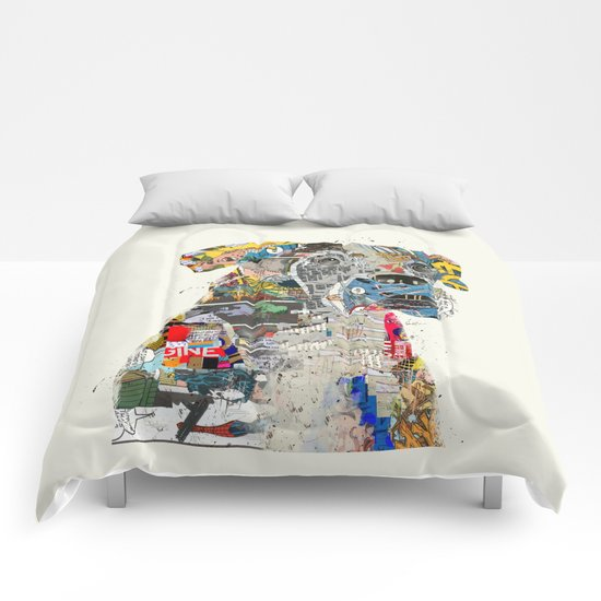 the mod boxer Comforters