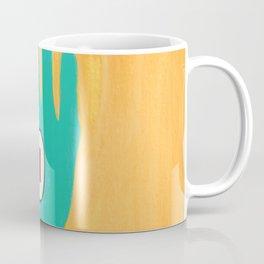 Bold And Brash Hamsa Evil Eye Coffee Mug