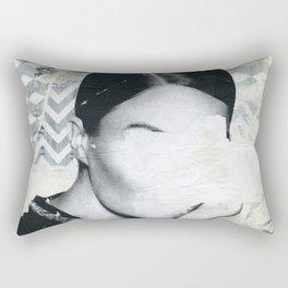 Torn 3 Rectangular Pillow