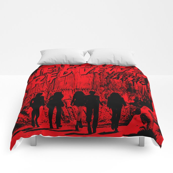 The Perfect Red Velvet Bad Boy Comforters By Ikpopstore Society6