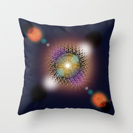 """""""The Great Conjunction"""" Inspired by Jim Henson's:"""" The Dark Crystal"""" Throw Pillow"""