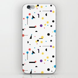Abstract seamless pattern like Kandinsky iPhone Skin