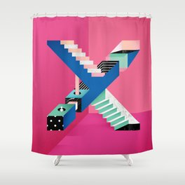 Impossible X Shower Curtain