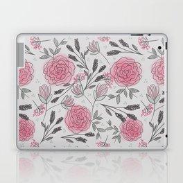 Soft and Sketchy Peonies Laptop & iPad Skin