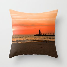 South Haven Sun Throw Pillow