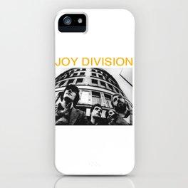 Joy Division merch iPhone Case