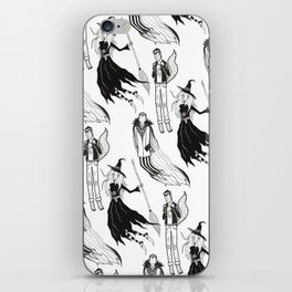 Happy Monsters (in white) iPhone Skin