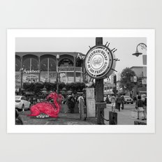 Unseen Monsters of San Francisco - Linne Stickles Art Print