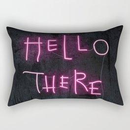 Hell Here Rectangular Pillow