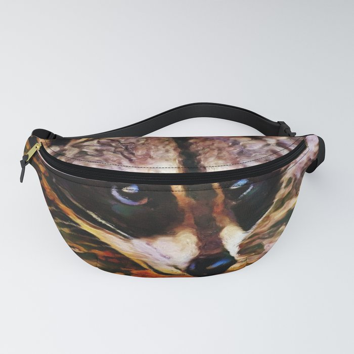 Wash Bear | Raccoon - Painting Fanny Pack