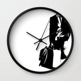 trainsandwhiskey Wall Clock