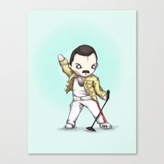 Plushie Mercury  Canvas Print