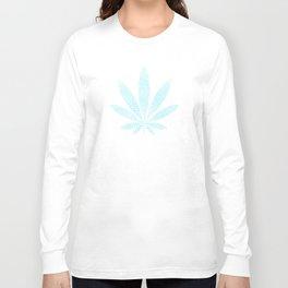 Cannabis Refresh Blue Long Sleeve T-shirt