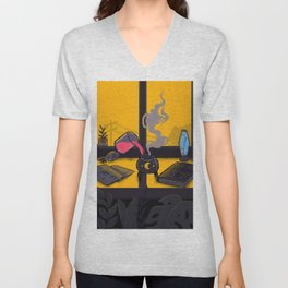 Laboratoy Unisex V-Neck