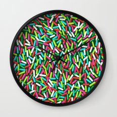 Encrusted With Sprinkles (Holiday Edition) Wall Clock