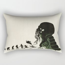 Lovecraftian Darwinism Rectangular Pillow