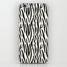 Zebra 1 iPhone Skin