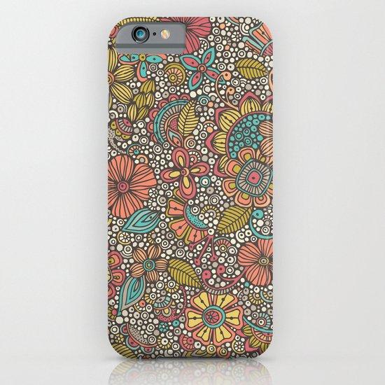 Doodles Garden iPhone & iPod Case