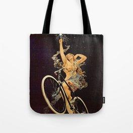 Vintage 1899 Cycles Sirius Bicycle Ad Tote Bag