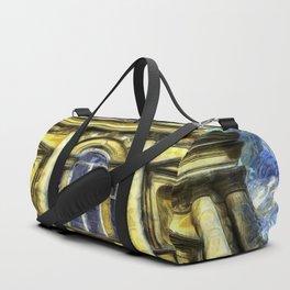 Roman Bath Van Gogh Duffle Bag