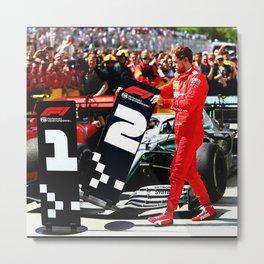 Formula 1 Metal Print