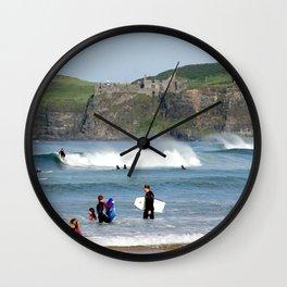 Surfs Up! Wall Clock