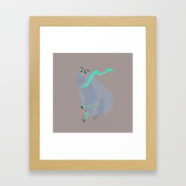Another day at the office Framed Art Print
