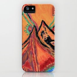 """"""" the mountain """" iPhone Case"""
