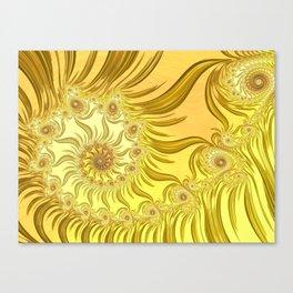 Fractal Van Gogh Canvas Print
