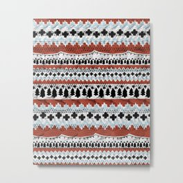 Not-So-Ugly Christmas Sweater Metal Print