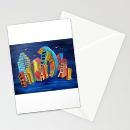The Floating City Stationery Cards