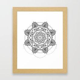Mandala No. 3 Framed Art Print