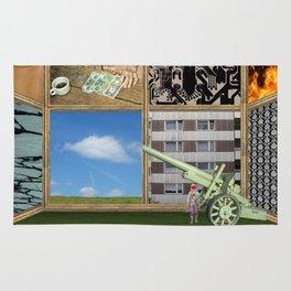 An der Schwelle zur Freiheit · a day with Magritte 1 Rug