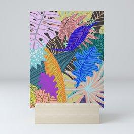 Lush Leaves 2 Mini Art Print