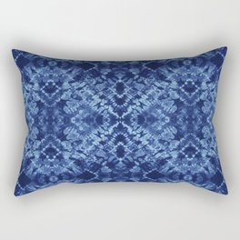Indigo Diamonds Rectangular Pillow