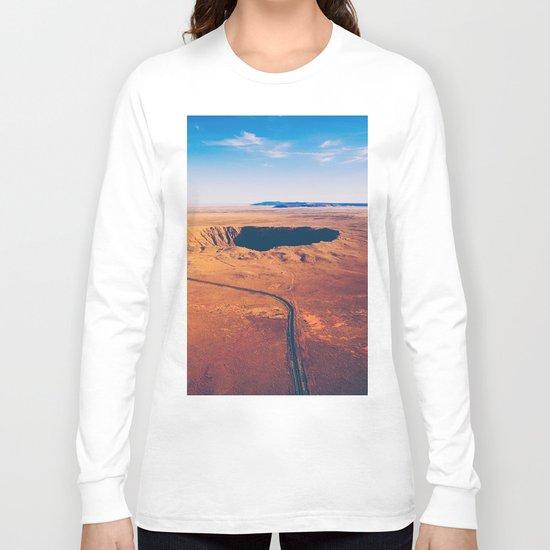 Crater vulcano Long Sleeve T-shirt