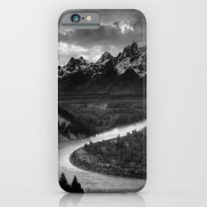 The Tetons and the Snake River  iPhone 6 Slim Case