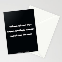 Abraham Maslow Stationery Cards