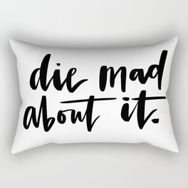 Die Mad About It Rectangular Pillow